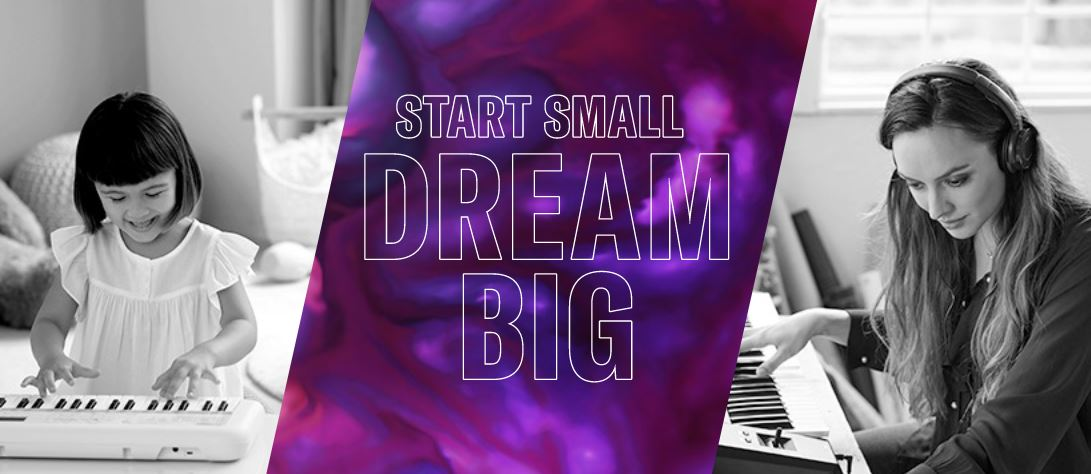 Start Small Dream Big
